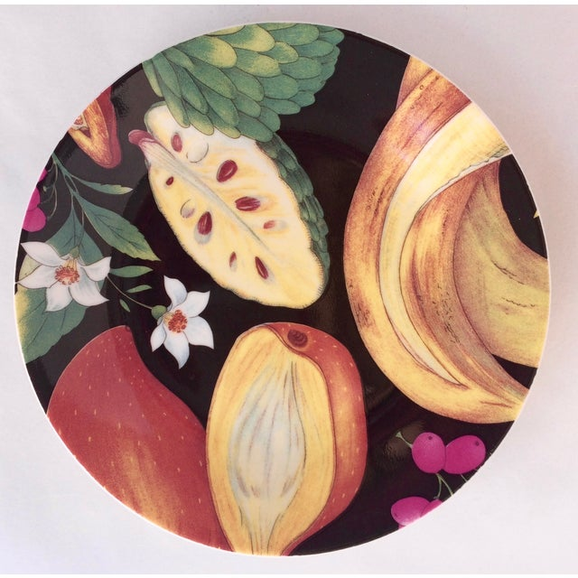 Limoges Tropical Fruits Canape Plates - Set of 10 For Sale - Image 5 of 8
