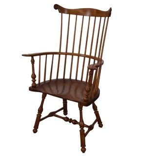 Walter Steely Custom Comb Back Windsor Arm Chair
