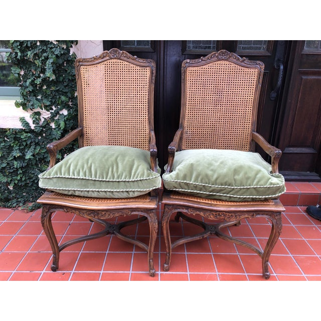 French Caned Chairs - a Pair For Sale - Image 12 of 12