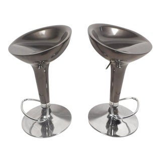 Contemporary Modern Adjustable Bar Stools For Sale