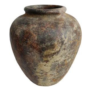 Indonesian Old Java Terracotta Urn For Sale