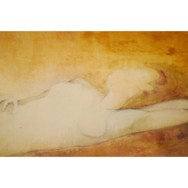 Taylor Nude Oil on Canvas study - Image 2 of 6