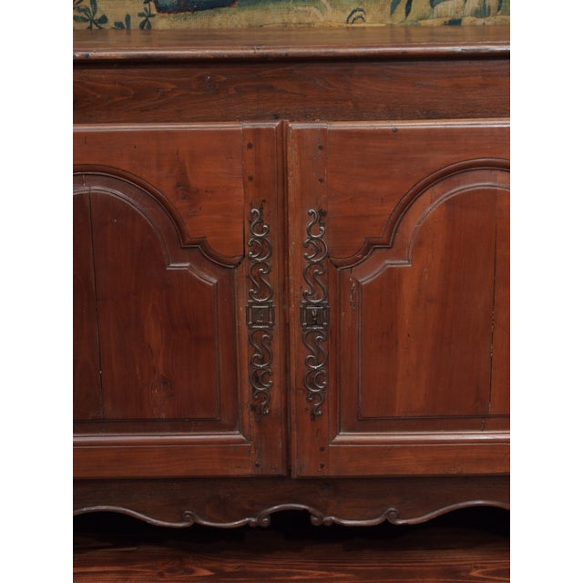 Louis XIV Fruitwood Buffet For Sale - Image 10 of 11