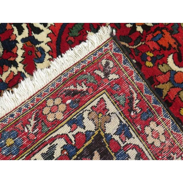 Vintage Hamadan Style Rug- 8′7″ × 12′2″ For Sale - Image 9 of 11