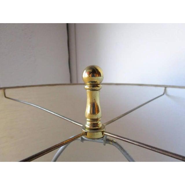 Glamorous Ceramic Metallic Table Lamp - Pair - Image 6 of 6