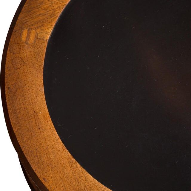 Pair Kipp Stewart Pedestal Side Tables - Image 3 of 4