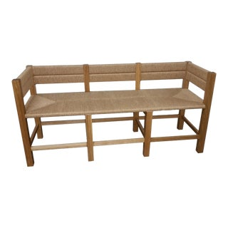 """Tule Hand Cording """"Merida"""" Bench - Large For Sale"""