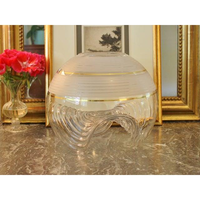 Murano Murano Vase by Mazzega For Sale - Image 4 of 5