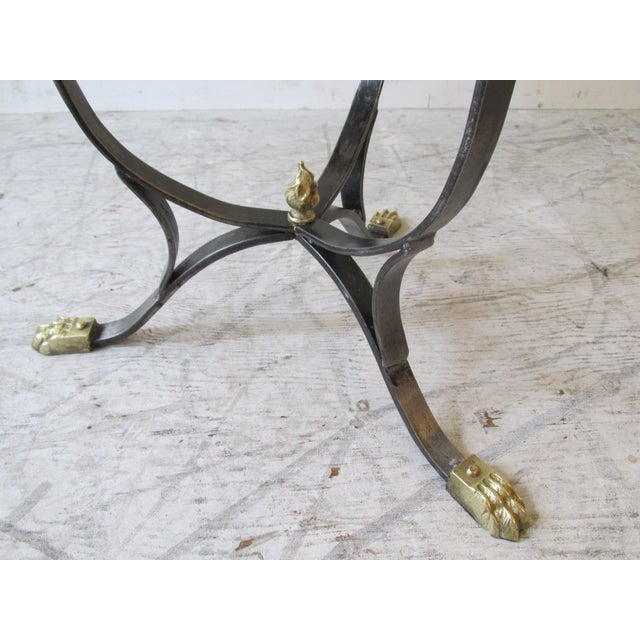 Vintage Neoclassical Style Stool - Image 6 of 9