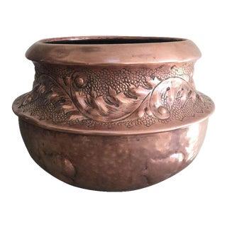 Arts & Crafts Copper Jardiniere