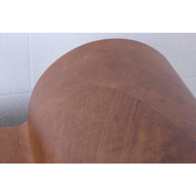 5c56f2e8377 Animal Skin Karl Springer Goatskin Parchment Bench For Sale - Image 7 of 13
