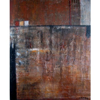 "Laurie MacMillan ""Cargo"" Abstract Painting For Sale"