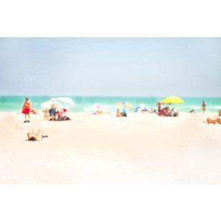 "Contemporary Cheryl Maeder ""La Mer Ii"" Archival Photographic Watercolor Print For Sale"