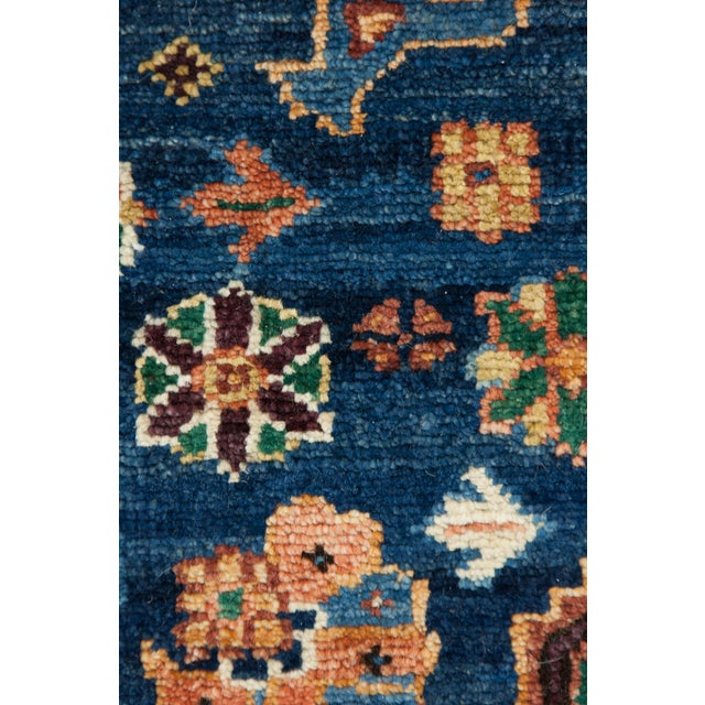 """Traditional Traditional Hand-Knotted Rug - 4'10"""" x 8'1"""" For Sale - Image 3 of 3"""