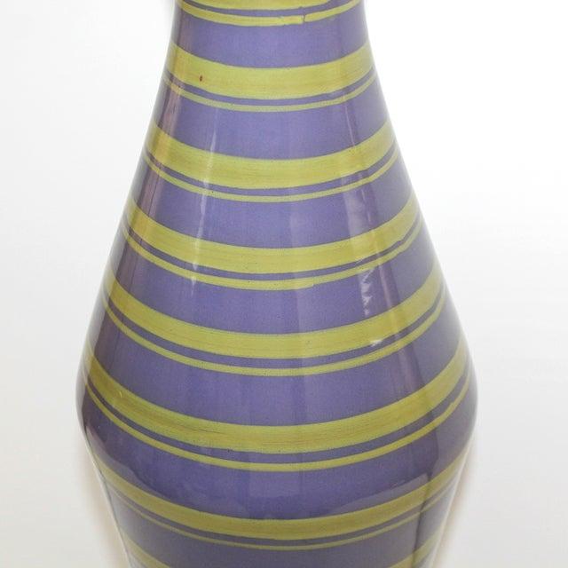Mid-Century Modern Raymor Italian Pottery Lamp - Image 2 of 9