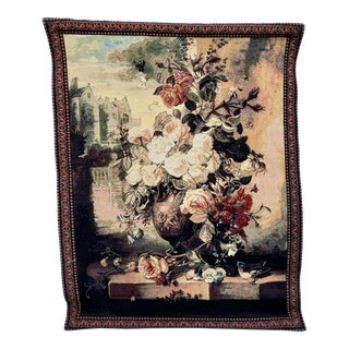 Floral Still Life Tapestry For Sale