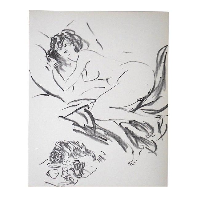 Vintage Mid 20th C. Ltd. Ed. Lithograph-Marcel Vertes c.1961 - Image 1 of 4