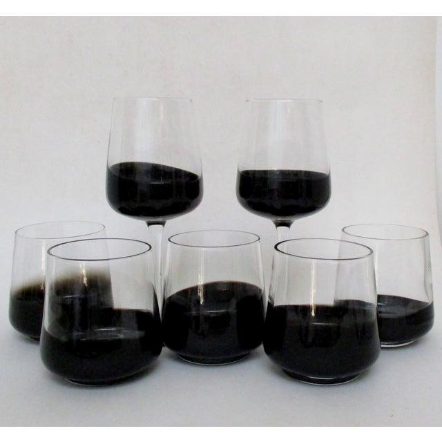 Black Dipped Glassware - Set of 14 - Image 4 of 8
