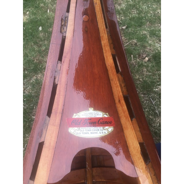 Fully Restored Antique Canoe - Image 5 of 7