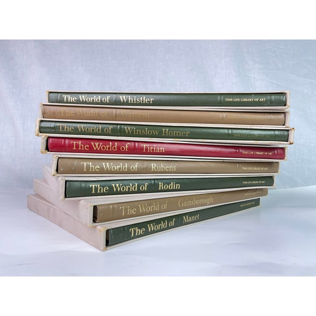 Vintage History of Art Famous Artists Book Collection - Set of 8 For Sale - Image 13 of 13