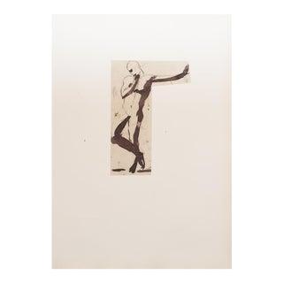 Rare 1959 Auguste Rodin Study Lithograph