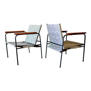1970s Vintage Patio Chairs - a Pair For Sale