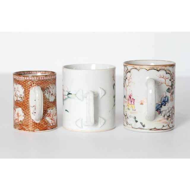 Asian Late 18th Early 19th Century Chinese Export Mugs / Tankards For Sale - Image 3 of 13