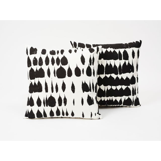 Black Schumacher Double-Sided Pillow in Queen of Spain Print For Sale - Image 8 of 9