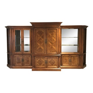 All Wood Entertainment Center For Sale