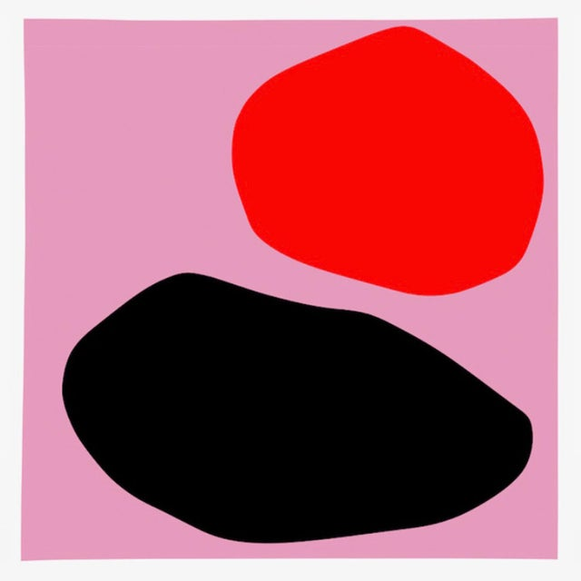 """Abstract """"Untitled"""" Giclee Print by Mia Farrington For Sale - Image 3 of 3"""