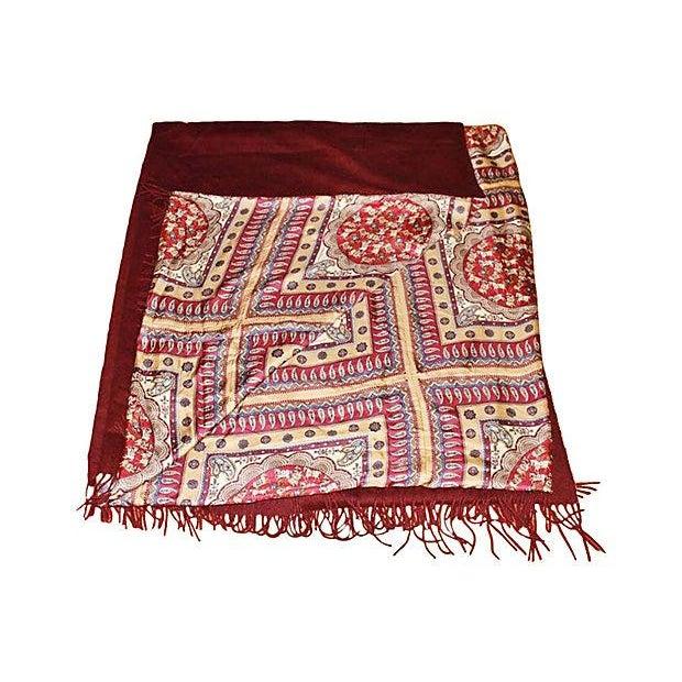 Ferragamo Silk Cashmere Pashmina Throw - Image 2 of 7