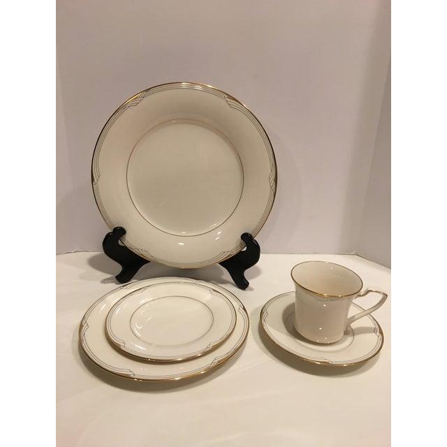 Noritake Golden Cove Dinnerware - 64 Pc. Set For Sale - Image 9 of 11
