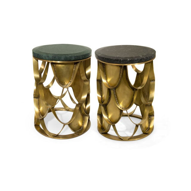 Koi Side Table From Covet Paris For Sale - Image 6 of 9