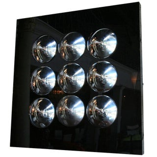 1970s Hub Cap Sculpture by Jason Seley For Sale