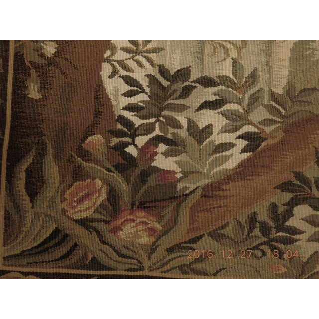 """Chineses Abusson Style Tapestry. 4'x 5'8"""" For Sale In Los Angeles - Image 6 of 10"""