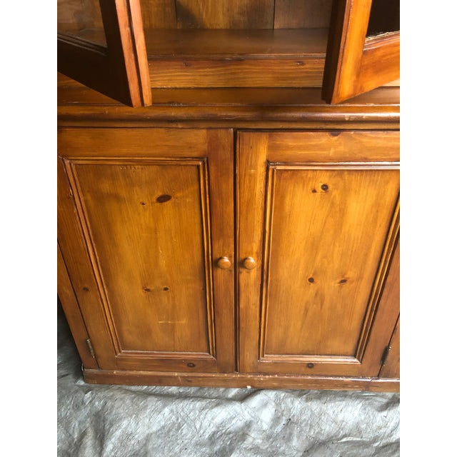 American Country Kitchen Cupboard Cabinet With Lots of Storage For Sale - Image 3 of 12