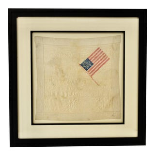 38 Star Handkerchief Circa 1876 For Sale