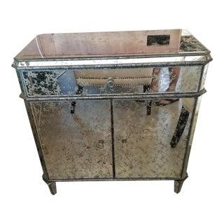 Currey & Company Antiqued Mirror Sideboard