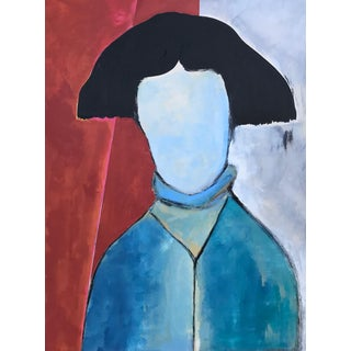 Original Contemporary Portrait Painting For Sale