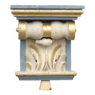 20th Century Carved Wall Bracket For Sale