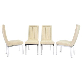 Charles Hollis Jones Dining Chairs - Set of 4 For Sale