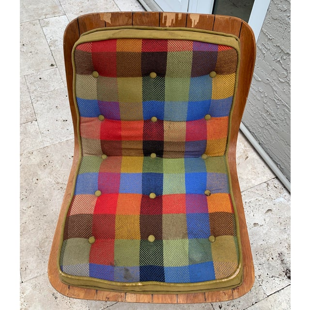 1950s Mid Century Carter Brothers 200 Scoop Chair For Sale - Image 5 of 13