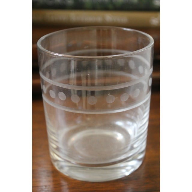 2010s Global Views Double Old Fashion Glasses - Set of 6 For Sale - Image 5 of 7