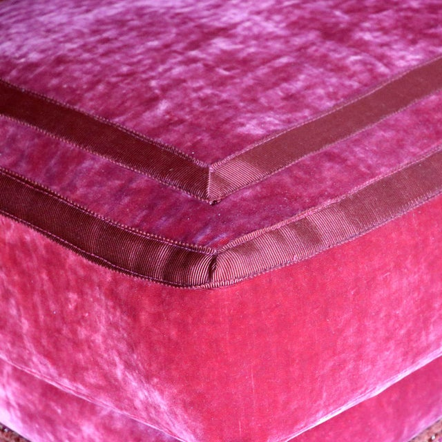 French French Left Arm Banquette Settee For Sale - Image 3 of 11