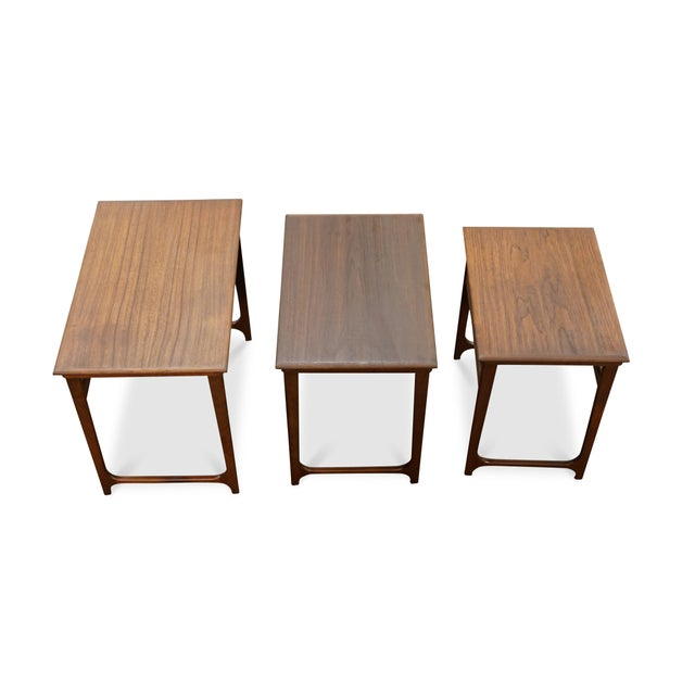 """Danish Modern Nesting Tables - """"Taastrup"""" For Sale In New York - Image 6 of 7"""