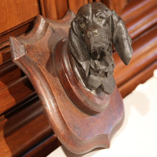 19th C. French Bronze Dog Sculpture - Image 5 of 7