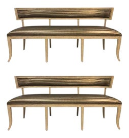 Image of Neoclassical Benches