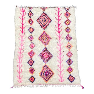 Moroccan Berber Azilal Wool Rug For Sale