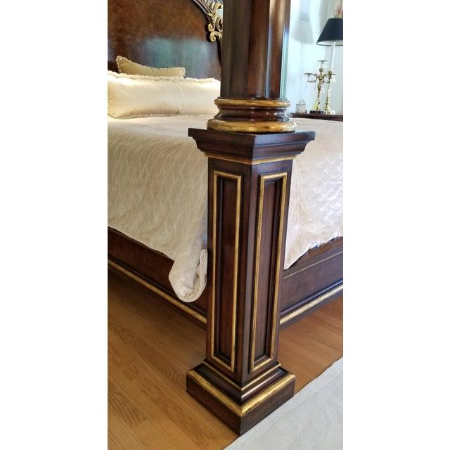 Metal Traditional Henredon Arabesque Bedframe For Sale - Image 7 of 13