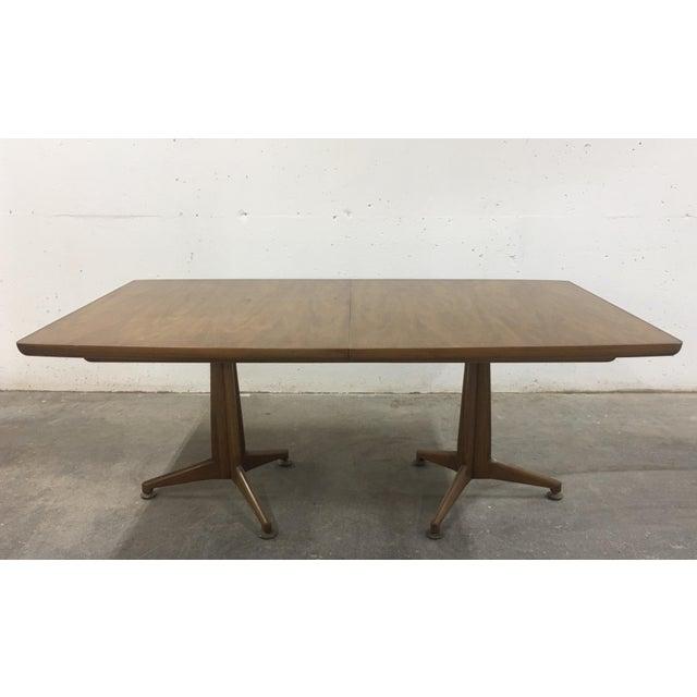John Widdicomb John Widdicomb Mid-Century Dining Table & Chairs - Set of 9 For Sale - Image 4 of 13